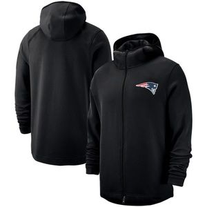 Men New England Patriots Pullover Hoodie